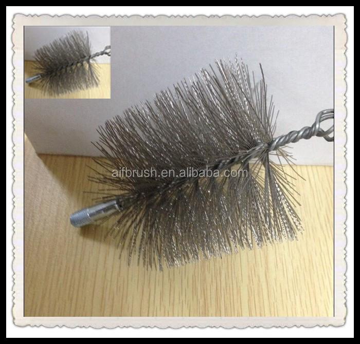 rotondo canna fumaria spazzola di filo di acciaio Spazzacamino spazzole per la pulizia canne fumarie