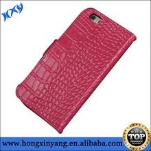 Genuine leather phone case,Luxury Crocodile genuine leather phone case