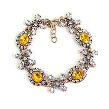 European and American trade jewelry wholesale manufacturers Yiwu JC same paragraph flowers alloy bracelet jewels