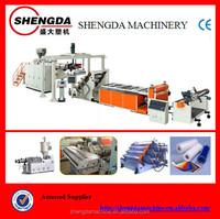 PE/PET/EVA/ABS single layer sheet manufacturing equipment