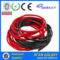 PVC insulated single electric wire cable with stranded flexible copper electric residential wire