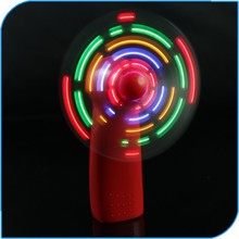 2015 China Party Favor Battery Operated Programmable Led Message Handheld Fan