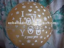 2012 Hot selling high quality 100% latex advertising balloon