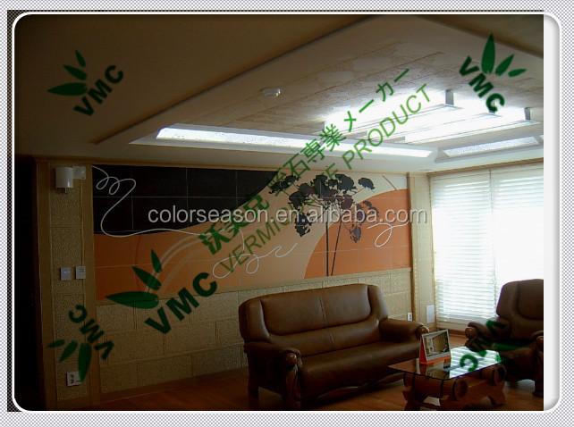 Mat riau de construction vermiculite de panneau mural planche acoustique pou - Panneau acoustique maison ...