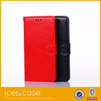 Wholesale shockproof phone cover for Samsung galaxy note 4 wallet case leather case