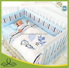 100% cotton pig baby bedding
