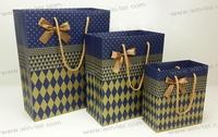 WT-PPB-1617-2-M Cotton rope handle paper shopping bag