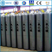 2015 ISO Standard TPED/DOT Wholesale Gas Cylinders Stainless Steel Cylinder for CO2