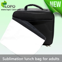 2015 personalized sublimation lunch bag for adults