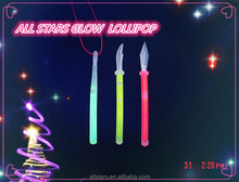 festival & party supply items multi colored glow lollipop stick