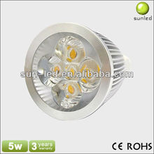 led spotlights for trucks LED GU10 6000K Daylight Spotlight 220V 5W (400 Lumen - 50 Watt Equivalent) 45 Degree Beam angle