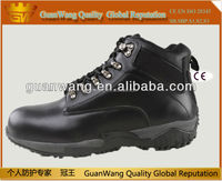 Good design black steel toe safety shoes with CE and ISO