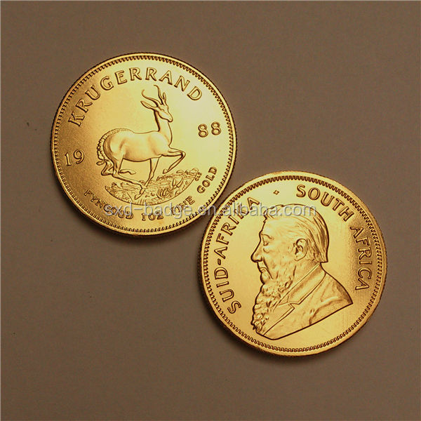 Popular gold 33.93g Tungsten Krugerrand coin
