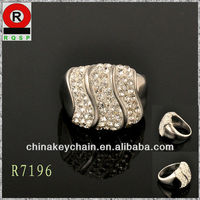 Hot Sale shining Diamond rings Silver rings Engagement rings free market USA