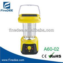 A60-02 FM Radio 24 LED Portable Solar Lantern