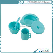 Dinnerware Food Grade Silicone Rubber Bowls/Cups
