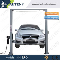 5T used 2 post car lift for sale with CE certificated