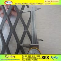 stretch diamond pattern expandable metal mesh