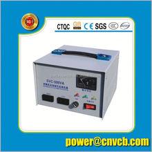 IT66 SVC single phase ac 500VA 500W voltage regulator variac transformer