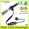 Hottest products!! Guangzhou auto parts 2500lm led h4, custom made headlight for jeep