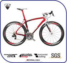 CKT 398 Red White Black Taiwan Carbon Fiber Road Racing Bike