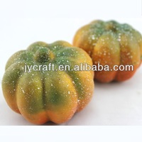 plastic cute fake small mini pumpkin model for fake vegetable decorative display