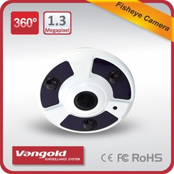 3 Megapixels Fisheye camera lens 1.38mm 3pcs array Led Support 360 degree and 180 degree panoramaic