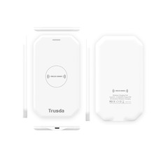 TRUSDA Ultra Slim Pocket Friend WPC QI Standard wireless charger for samsung s6/ note2/note3/Nokia/HTC emergency travel use