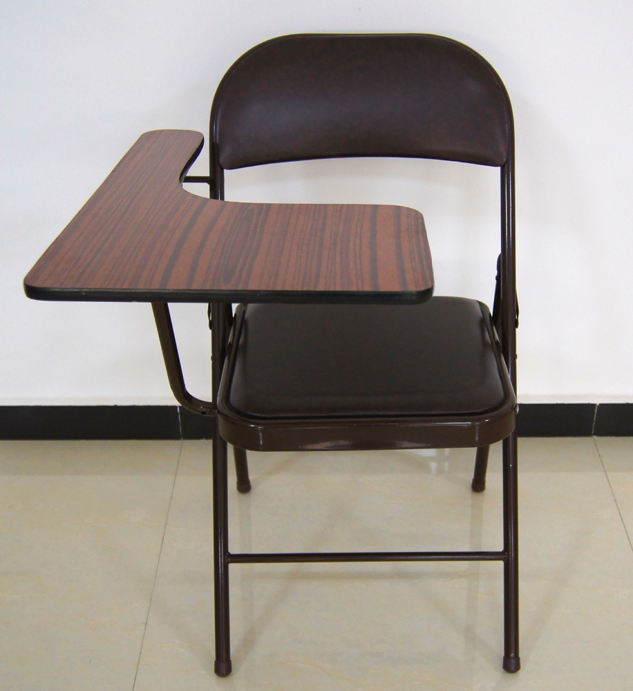 folding study chair with writing pad buy folding study chair with