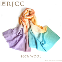 2015 Latest Fashion Wool Scarf Shawl From Inner Mongolia