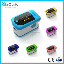 Unique Design Medical Devices,LED Fingertip Pulse Oximeter for Home Care,CE&ISO Approved