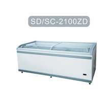 SD/SC-2100ZD BEST SELL SLIDING GLASS DOOR FREEZER