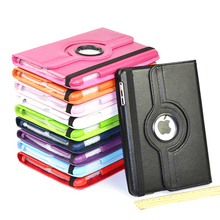 360 Rotation PU Leather case for Apple iPad Air 5 cover ipad5 flip cases with stand function