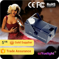 Yuelight party family wedding stage event 400W mini fog machine