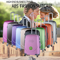 2015 New Arrival Fashion Style Promotional ABS Travelling Trolley Luggage