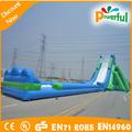 Quente ao ar livre comerciais mais longa decliveinsuflável/gigante slide piscina inflável para o adulto