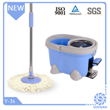 Convenient spin mop for home cleaning