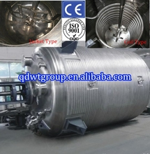 thermal oil heated chemical reactor/ mixing tank with agitator 50l-10000l