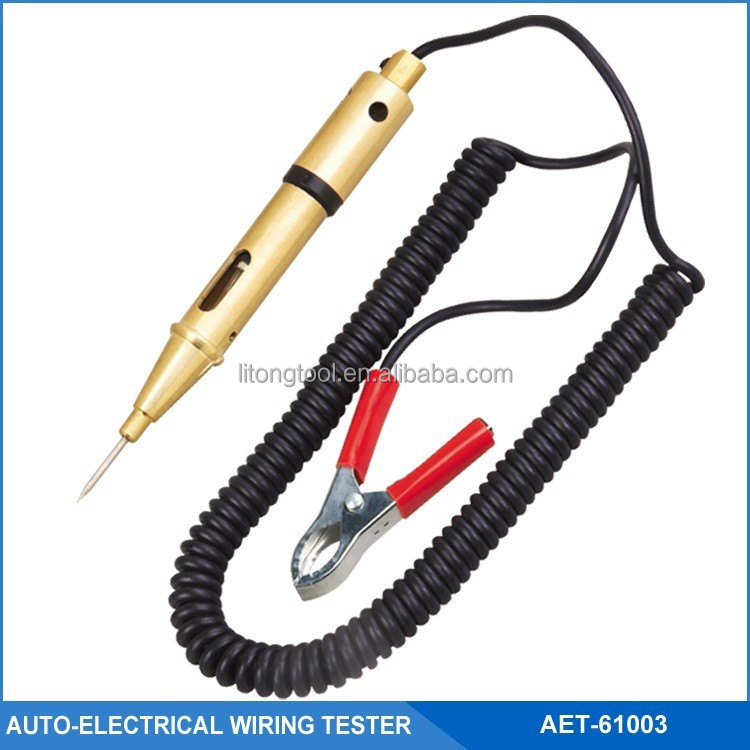Electrical Wiring Tester : Auto electrical wiring tester circuit v