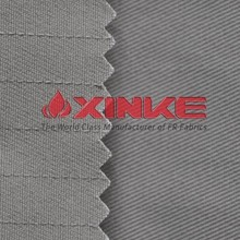 EN 1149-3 cotton poly fire resistant antistatic twill fabric