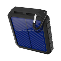 IP65 waterproof level 16,000mAh polymer battery portable Solar Charger Panel