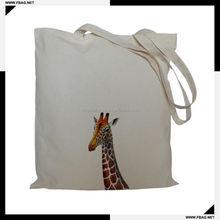 100% QC Eco-friendly organic mobile phones cotton bag