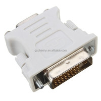 DVI-D (24+1) Dual Link Male to VGA 15 Pin Female Adapter Converter For PC Laptop Consumer Electronics Part