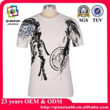 100% Cotton T-Shirts Manufacturers Custom Low Moq 500Pcs Screen Print T-Shirt