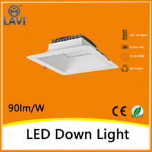 Small order top grade 2160lm 24W round led downlight recessed adjustable