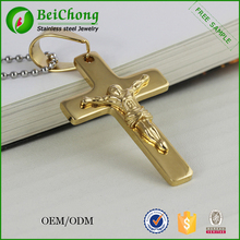 For sale gold jesus ankh pendant