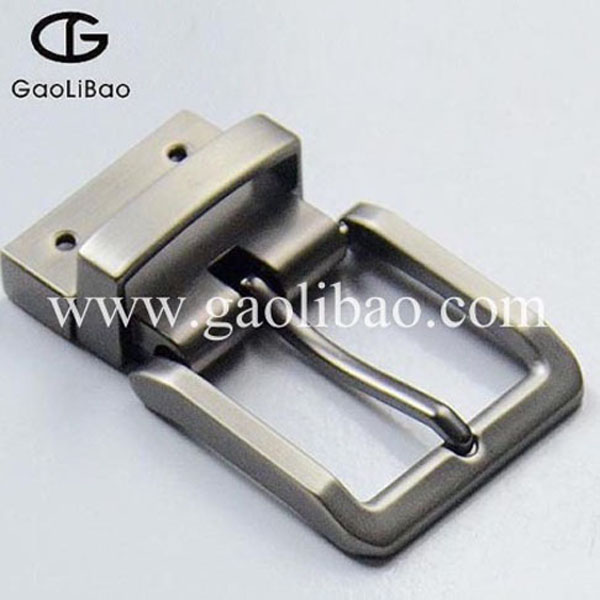 Wstern pin turning buckle for belt Reversible buckle ZK-300158