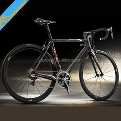 Cheapest 2*11 speed C60 complete road carbon bike full carbon road bike group set 6800 chinese carbon bike on sale
