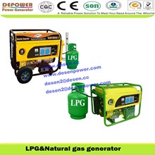 2%off promotion,Factory price,lpg&lng,2,2.5,3,5,6,7kva small portable natural gas generator from manufacturer