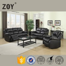 Zoy Used Bonded Leather Recliner Sofa Set & Single Recliner & Loveseat & Chair Set with 5 Recliners 93930